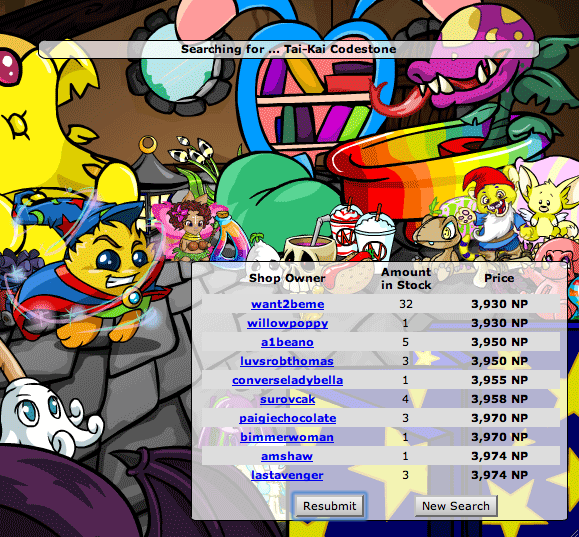 My Shop (Check!) - Neopets General Chat - The Daily Neopets
